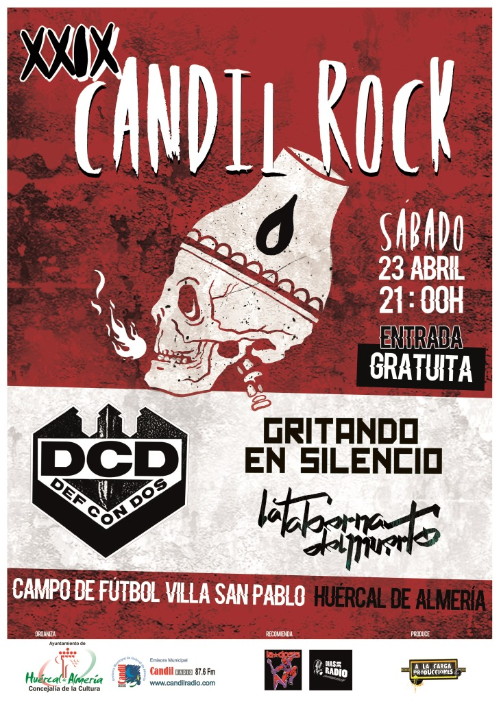 CARTEL CANDILROCK 2016 copy