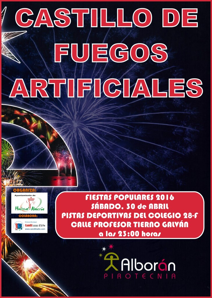 CARTEL CASTILLO FUEGOS ARTIFICIALES 2016 copy