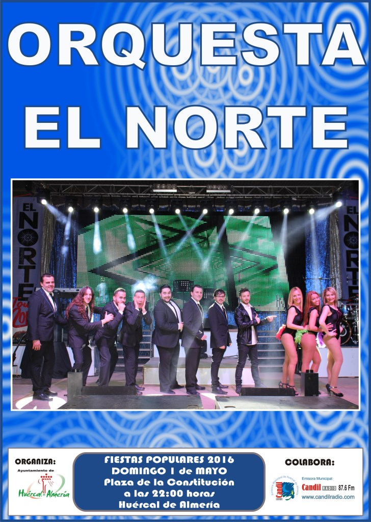 CARTEL ORQUESTA EL NORTE 2016 copy