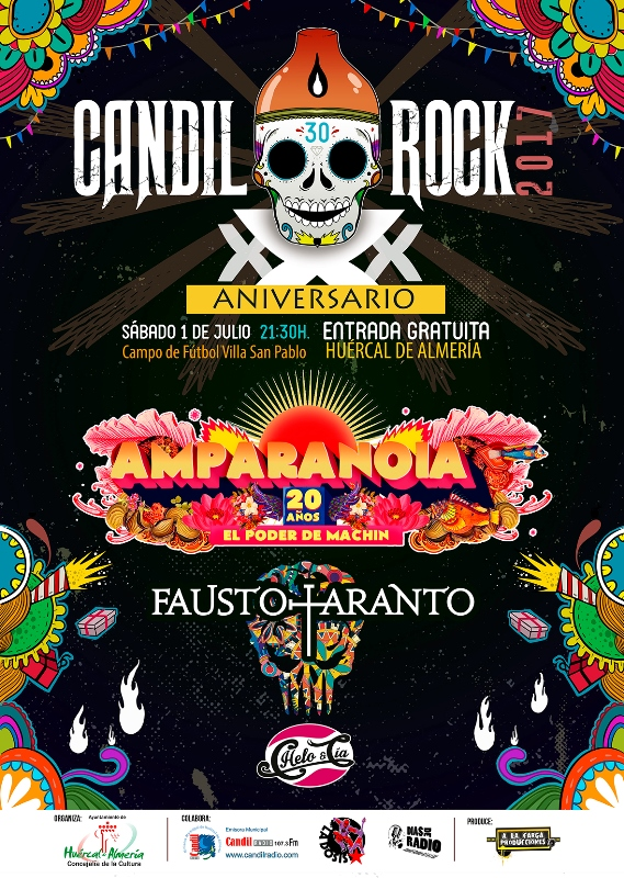 Candil Rock 2017 redes