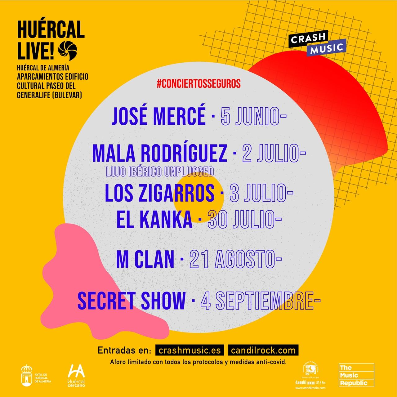 Cartel Huercal Live 2021