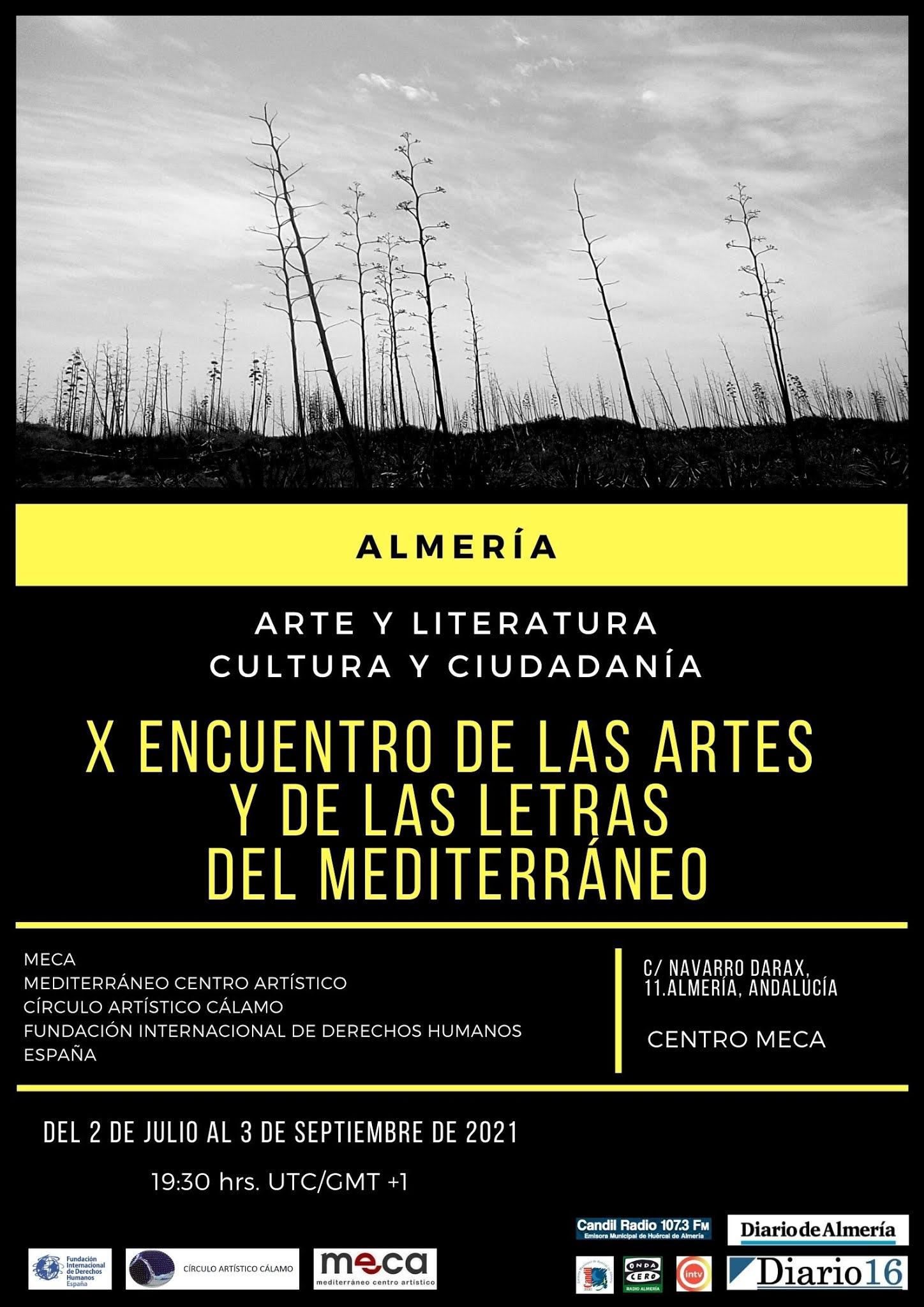 X Encuentro Letras Mediterraneo 2021