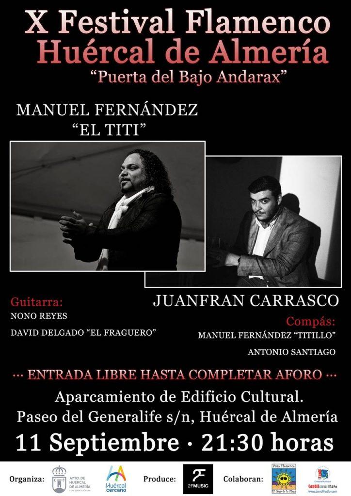 X Festival Flamenco Huércal de almería