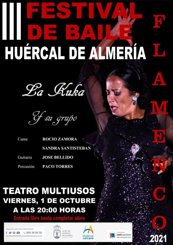 Festival Flamenco Huercal de almeria 2021